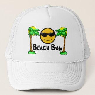 Solsken & palmträd för strand dåligt truckerkeps