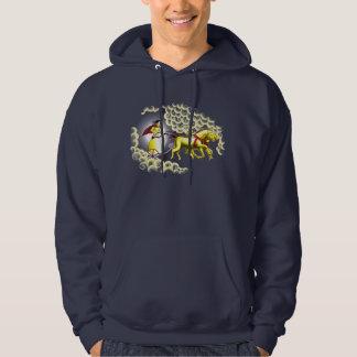 Soltriumfvagn Sweatshirt Med Luva