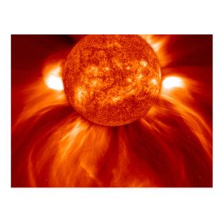 Soltryckvåg Vykort