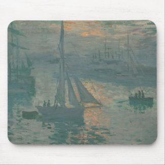 Soluppgång (flotta) - Claude Monet Musmatta