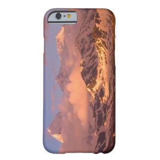 Soluppgång över bergskedjorna på söder barely there iPhone 6 fodral