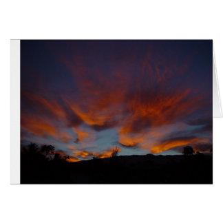 Soluppgång över Haleakala Hälsningskort