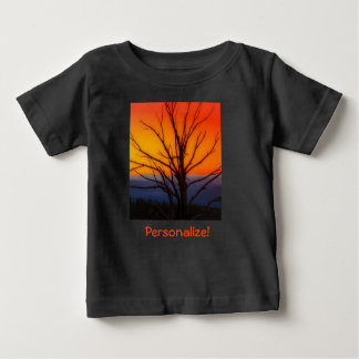 Soluppgång över Yellowstone nationalparkdesign Tshirts
