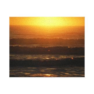 Soluppgång på Atlanticet Ocean Canvastryck