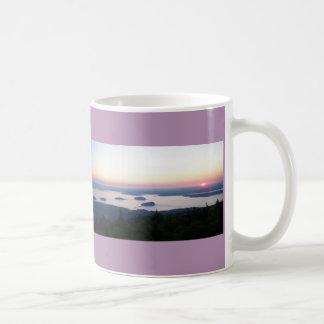 Soluppgång på den Cadillac bergmuggen Kaffemugg