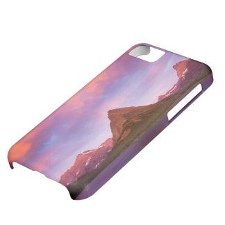 Soluppgång på glaciären iPhone 5C fodral