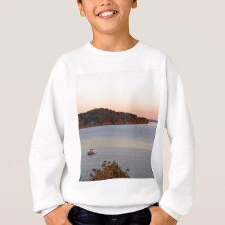 Soluppgång på hamnen t shirt