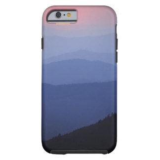 Soluppgång sydliga Appalachian berg som är Tough iPhone 6 Fodral
