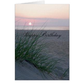 Soluppgångfödelsedag Hälsningskort