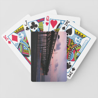 Soluppgångpir Spelkort