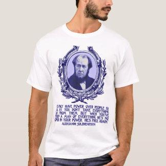 Solzhenitsyn citationstecken:  Frihet & förlora T-shirts