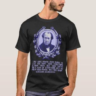 Solzhenitsyn citationstecken: Frihet & förlora Tee Shirt