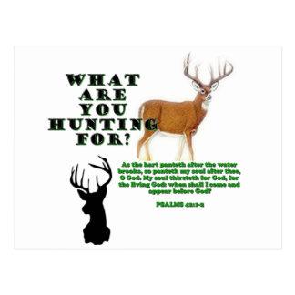 Som hjorten vykort