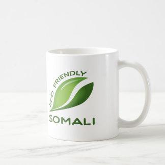 Somali. Eco vänskapsmatch Vit Mugg