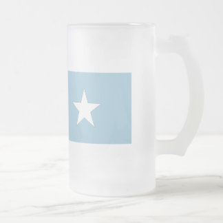 Somalia flagga frostad glas mugg
