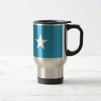 Somalia flagga rostfritt stål resemugg