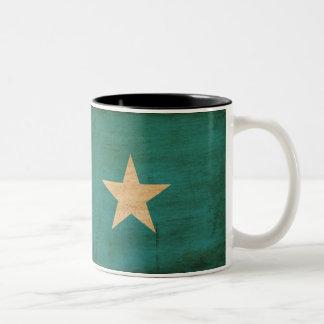 Somalia flagga Två-Tonad mugg