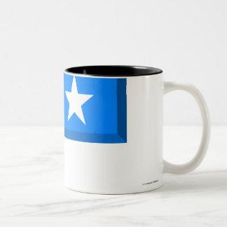 Somalia flaggajuvel Två-Tonad mugg