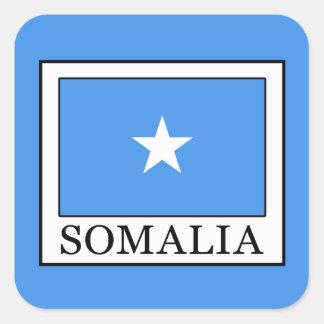 Somalia Fyrkantigt Klistermärke
