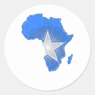 Somalia Runt Klistermärke