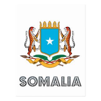 Somalisk Emblem Vykort