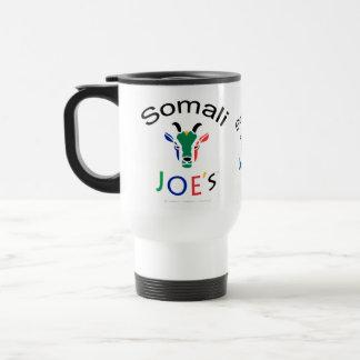 Somaliska Joes dam för get för barnflickaflagga Rostfritt Stål Resemugg