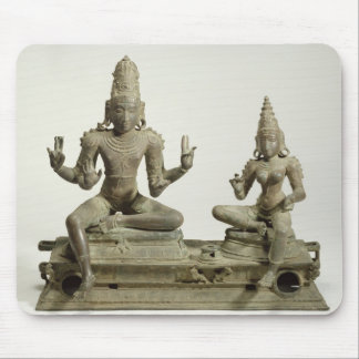 Somaskanda Chola, Tamil Nadu (brons), Musmatta