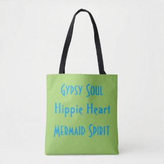 Sommar för ande för sjöjungfru för Hippie för Tygkasse
