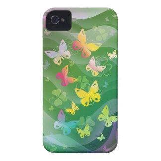 Sommar och fjärilar iPhone 4 cover