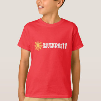 Sommaräventyr 2011 tshirts