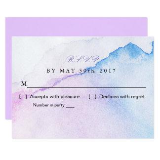 Sommarbrisbröllop OSA 8,9 X 12,7 Cm Inbjudningskort