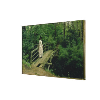 Sommaren landskap, 1879 canvastryck