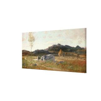 Sommaren landskap canvastryck