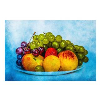 Sommarfrukter Fototryck