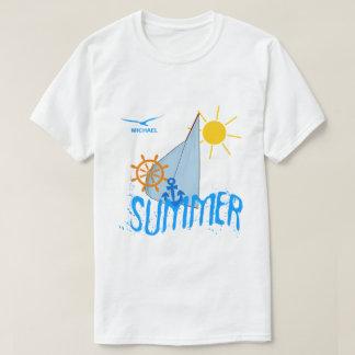 Sommarhavet seglar anpassade t shirts
