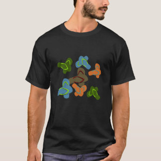 Sommarroligtflinflip flops t-shirt