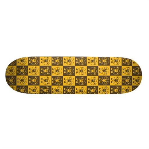 Sömn-Får - LONVIG vid MINYMO Skate Board Deck