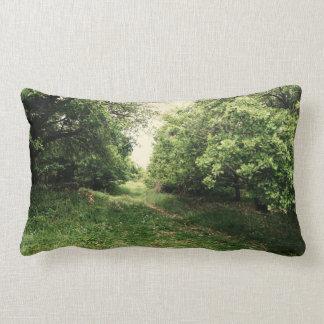 Sömn i skogen lumbarkudde