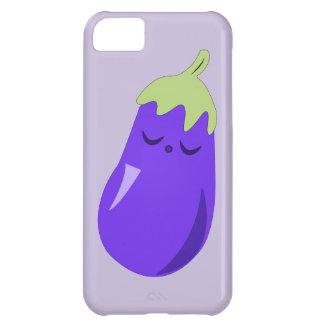 Sömnig babyaubergineiphone case iPhone 5C mobil fodral