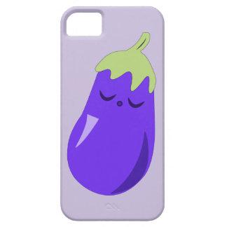 Sömnig babyaubergineiphone case iPhone 5 Case-Mate fodral