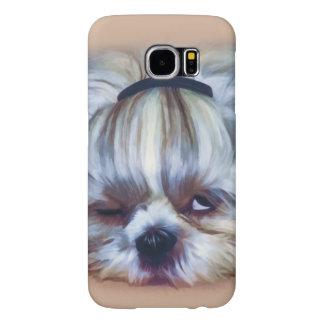 Sömnig Shih Tzu hund Galaxy S5 Fodral