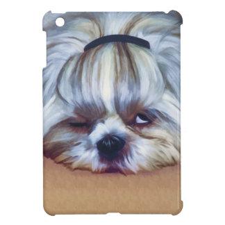 Sömnig Shih Tzu hund iPad Mini Mobil Fodral