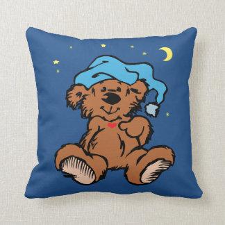 Sömnig Time björnmåne och stjärnor Kudde