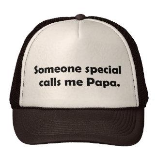 Somone speciella appeller mig pappaT-tröja och Gif Keps