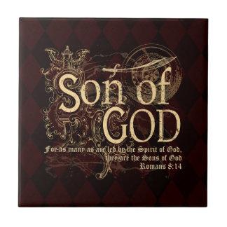 Son av guden, Romans8:14kristen Kakelplatta