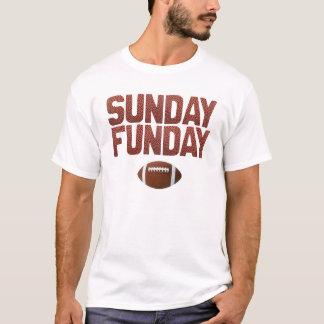 Söndag Funday - fotbollupplaga T-shirts