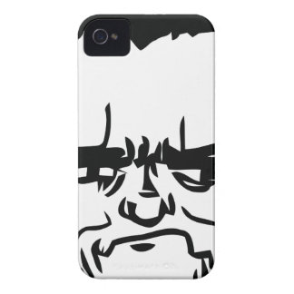 Sonen sviker jag förmiddagen komiskt ansikte iPhone 4 Case-Mate case