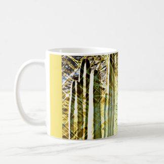 Songbirden på ugnen leda i rör den kaffemugg