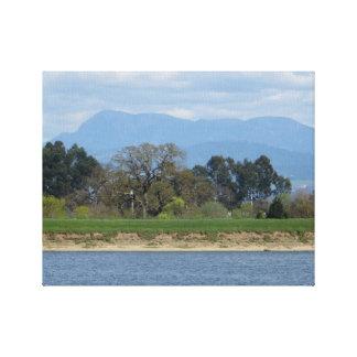 Sonoma County backar i mars Canvastryck