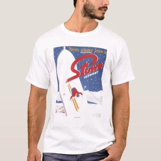 Sopa S - Det finns alltid snöPromoaffischen Tee Shirt